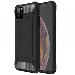 Husa iPhone 11 Pro Max Mobster Hybrid Armor - Negru