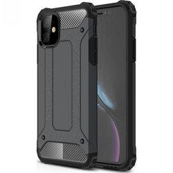 Husa iPhone 11 Mobster Hybrid Armor - Negru