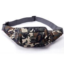 Borseta Sport Multifunctionala Army Camouflage Bag Cu 3 Buzunare - Green