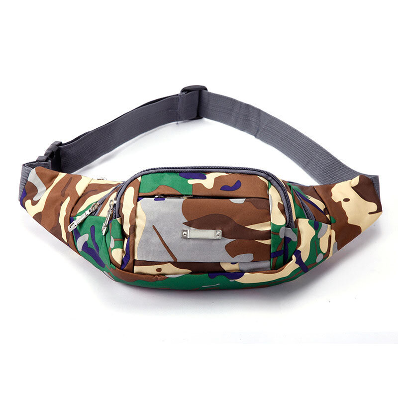Borseta Sport Multifunctionala Army Camouflage Bag Cu 3 Buzunare - Brown