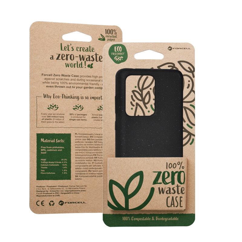 Husa Samsung Galaxy S20 Ultra 5G Forcell Bio Zero Waste Eco Friendly - Negru