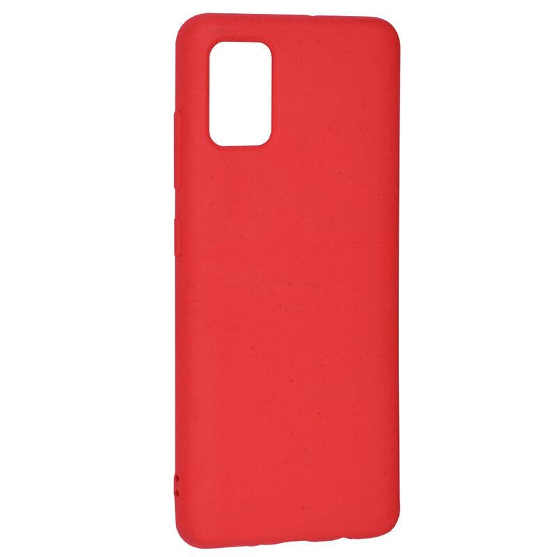 Husa Samsung Galaxy A51 Forcell Bio Zero Waste Eco Friendly - Rosu
