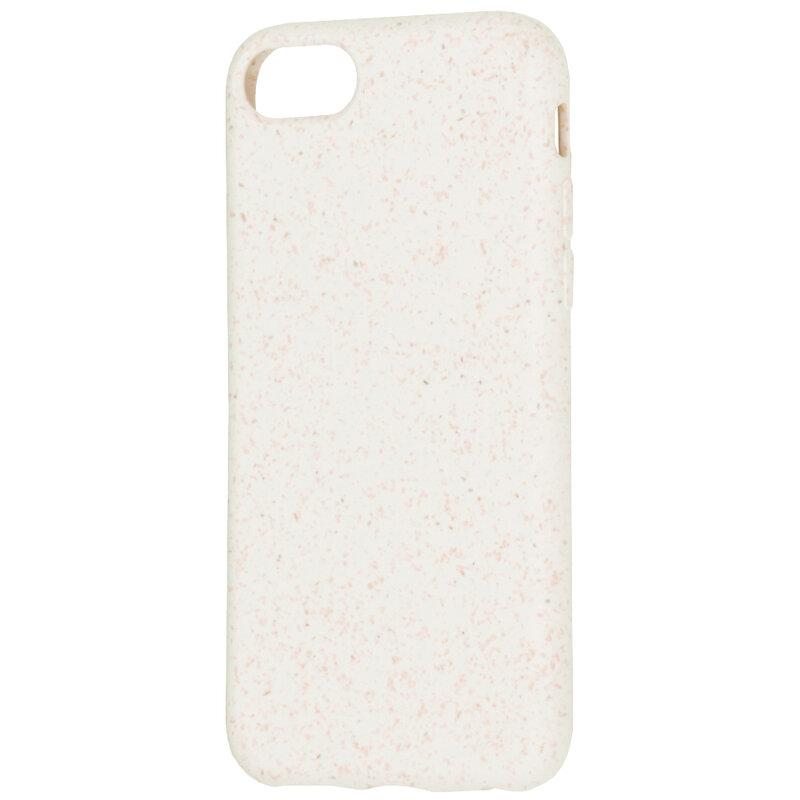 Husa iPhone 7 Forcell Bio Zero Waste Eco Friendly - Alb
