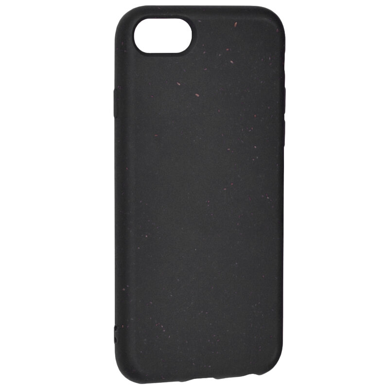 Husa iPhone 7 Forcell Bio Zero Waste Eco Friendly - Negru