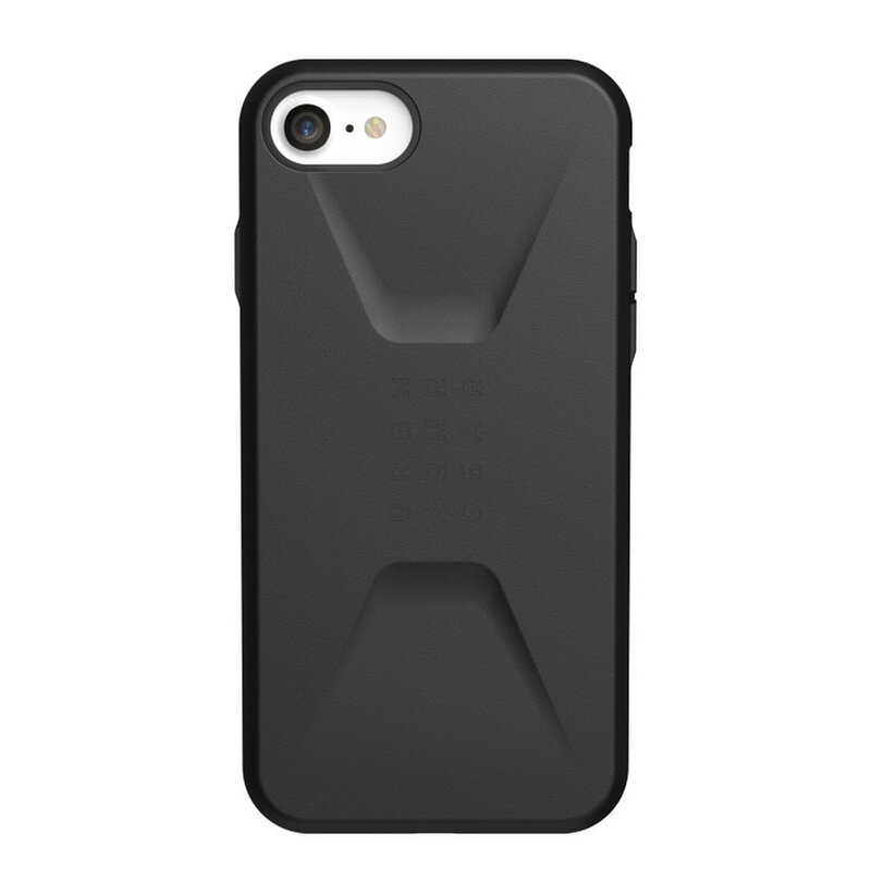 Husa iPhone 7 UAG Civilian Series - Black