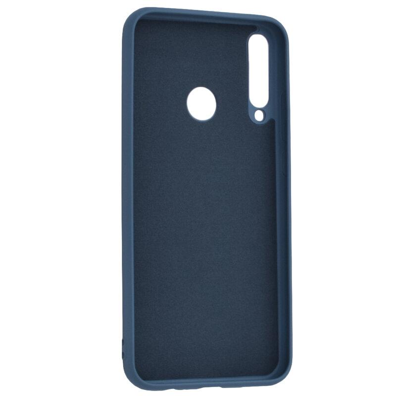Husa Huawei P40 Lite E Silicone Lite - Bleumarin