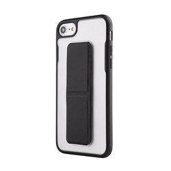 Suport Auto/Birou Mobster Folding Magnetic Pliabil Universal Pentru Telefon/Tableta Din Piele Ecologica - Negru