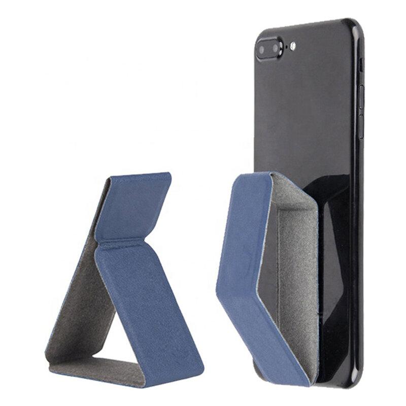 Suport Auto/Birou Mobster Folding Magnetic Pliabil Universal Pentru Telefon/Tableta Din Piele Ecologica - Auriu