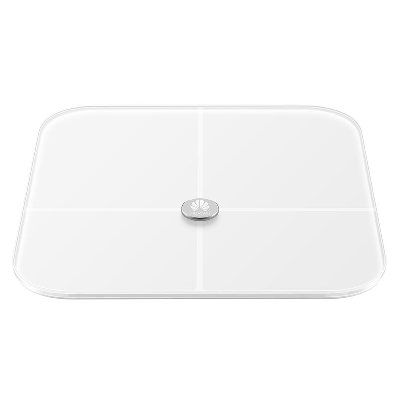 Cantar Digital Huawei AH100 Body Fat Scale Smart Cu Analizator Corporal Bluetooth V4.1 Cu Display LED - Alb