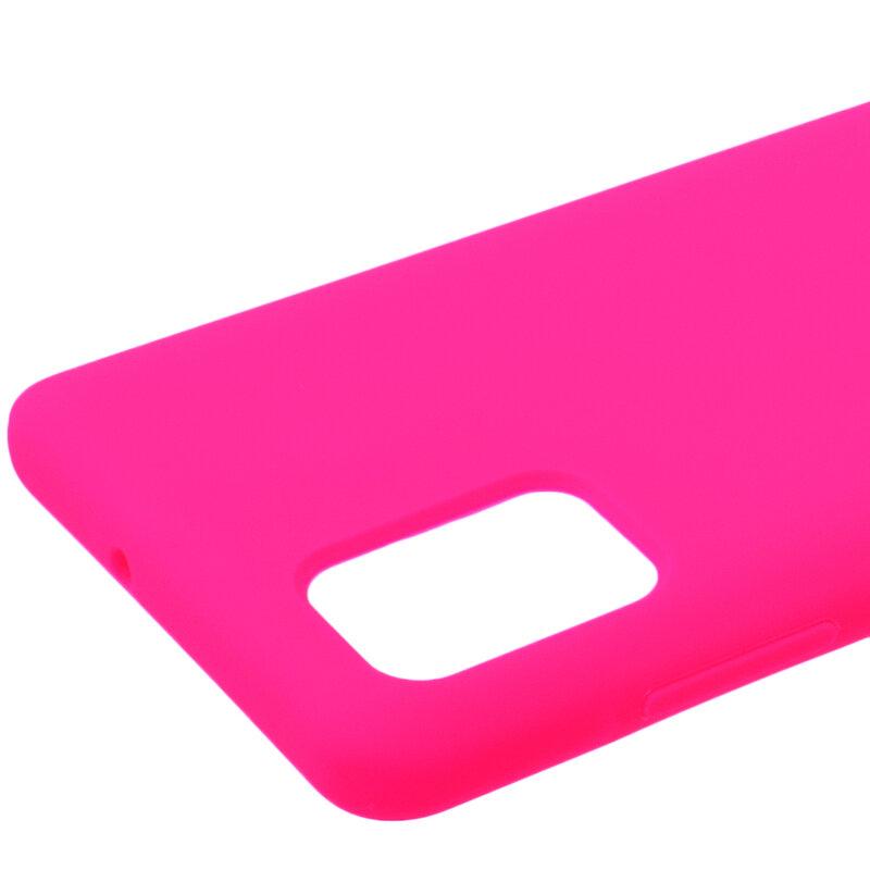 Husa Samsung Galaxy A51 Silicon Soft Touch - Roz Fuchsia