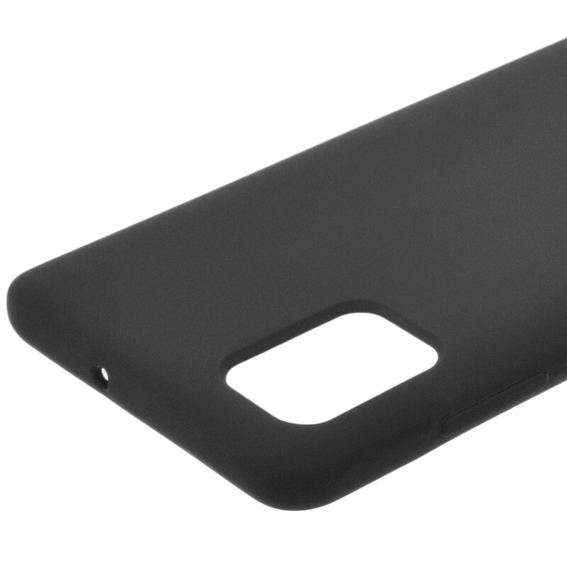 Husa Samsung Galaxy A51 Silicon Soft Touch - Negru