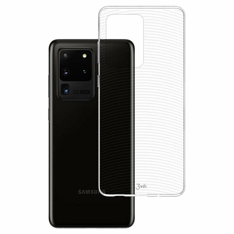 Husa Samsung Galaxy S20 Ultra 5G 3MK Armor Case - Clear