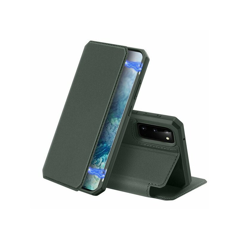 Husa Samsung Galaxy S20 5G Dux Ducis Skin X - Midnight Green