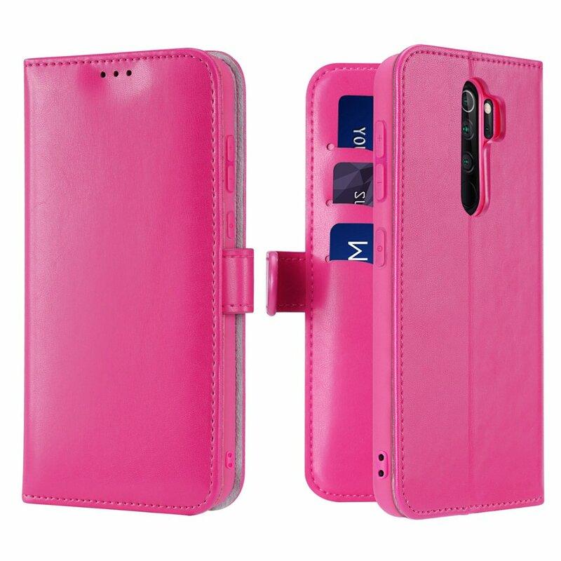 Husa Xiaomi Redmi Note 8 Pro Dux Ducis Kado Series Book - Roz