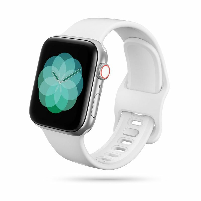 Curea Apple Watch 1 38mm Tech-Protect Iconband - Alb