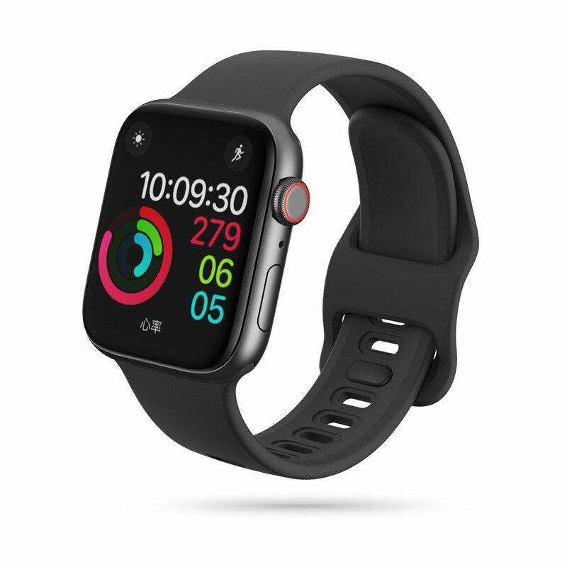 Curea Apple Watch 1 42mm Tech-Protect Iconband - Negru
