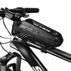 Geanta Pentru Bicicleta WildMan Hardpouch E5S Impermeabila Cu Buzunare Interioare Pentru Depozitare - Negru