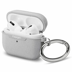 Husa Apple Airpods Pro Spigen Urban Fit Cu Holder Metalic - Gri