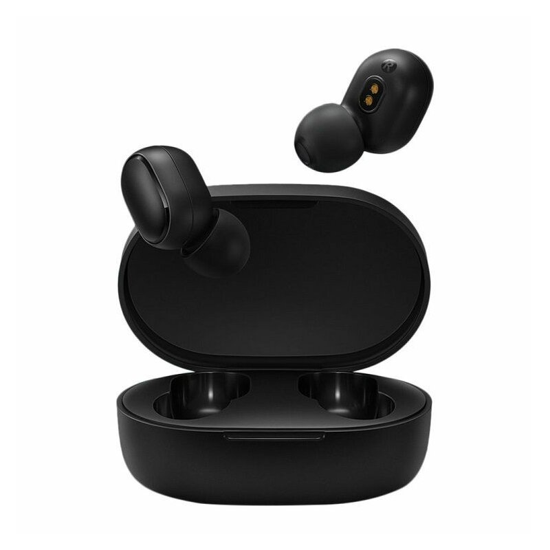 Casti In-Ear Originale Xiaomi Mi True Wireless Earbuds Basic S Bluetooth 5.0 Cu Suport Pentru Incarcare - Negru