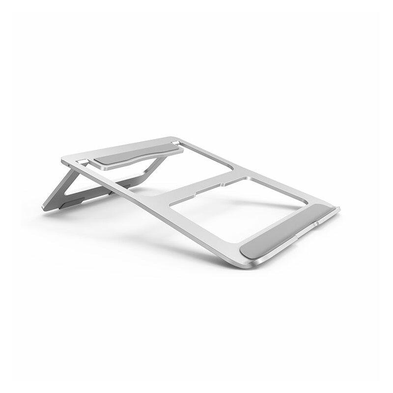 Suport Laptop Tech-Protect Stable De Tip Stand Pliabil Si Reglabil Universal Din Aluminiu - Roz