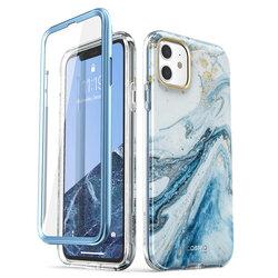 [Pachet 360°] Husa iPhone 11 I-Blason Cosmo + Folie Ecran - Blue