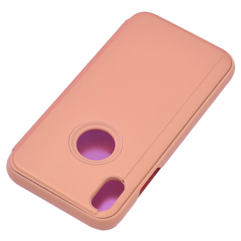 Husa iPhone XS Max Flip Standing Cover - Pink