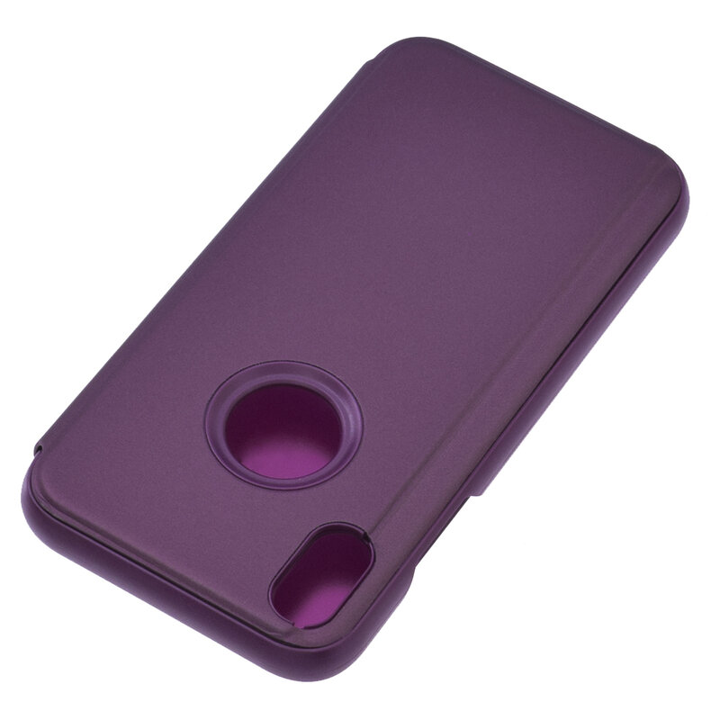 Husa iPhone XS Flip Standing Cover - Purple