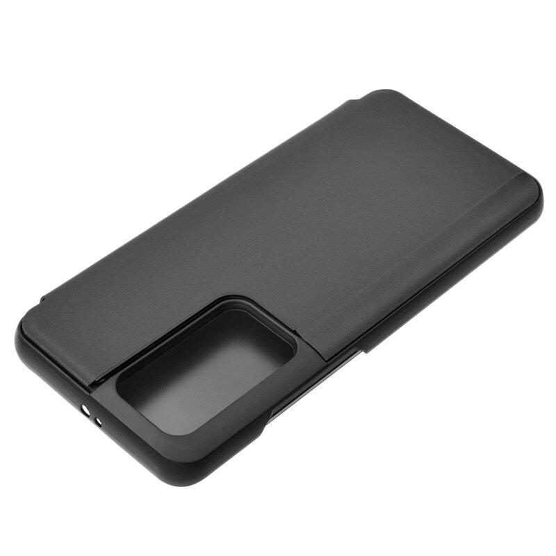 Husa Huawei P40 Pro Flip Standing Cover - Black