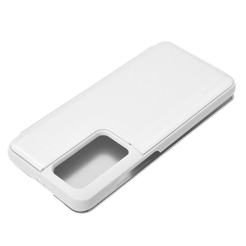 Husa Huawei P40 Pro Flip Standing Cover - Silver