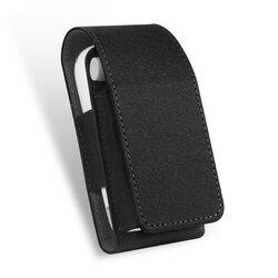 Husa IQOS 3.0 Cigarette Dux Ducis Fashion Edition Piele Ecologica Pentru Protectia/Organizarea Accesoriilor - Negru