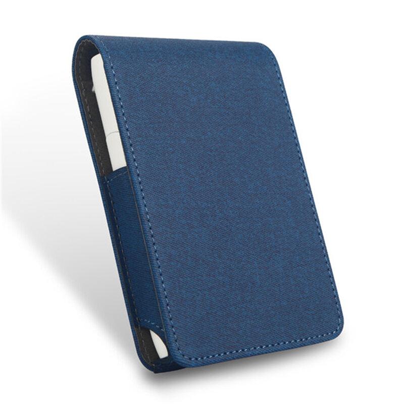 Husa IQOS 3.0 Multi Cigarette Dux Ducis Fashion Edition Din Piele Ecologica Pentru Protectia Accesoriilor - Albastru