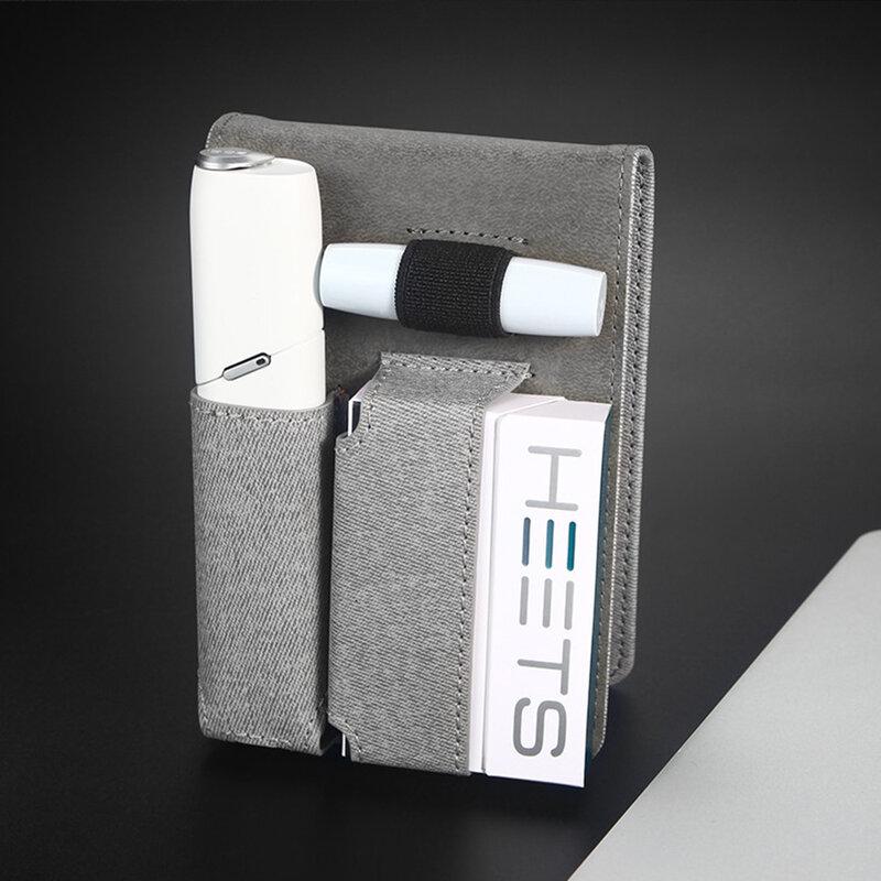 Husa IQOS 3.0 Multi Cigarette Dux Ducis Fashion Edition Din Piele Ecologica Pentru Protectia Accesoriilor - Gri
