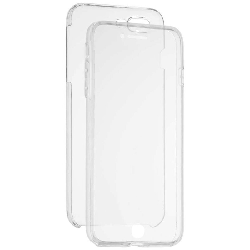Husa iPhone SE 2, SE 2020 FullCover 360 - Transparent