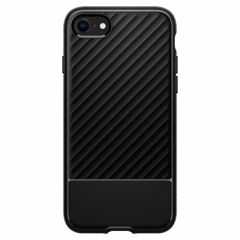 Husa iPhone 7 Spigen Core Armor - Matte Black