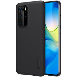 Husa Huawei P40 Pro Nillkin Super Frosted Shield - Black