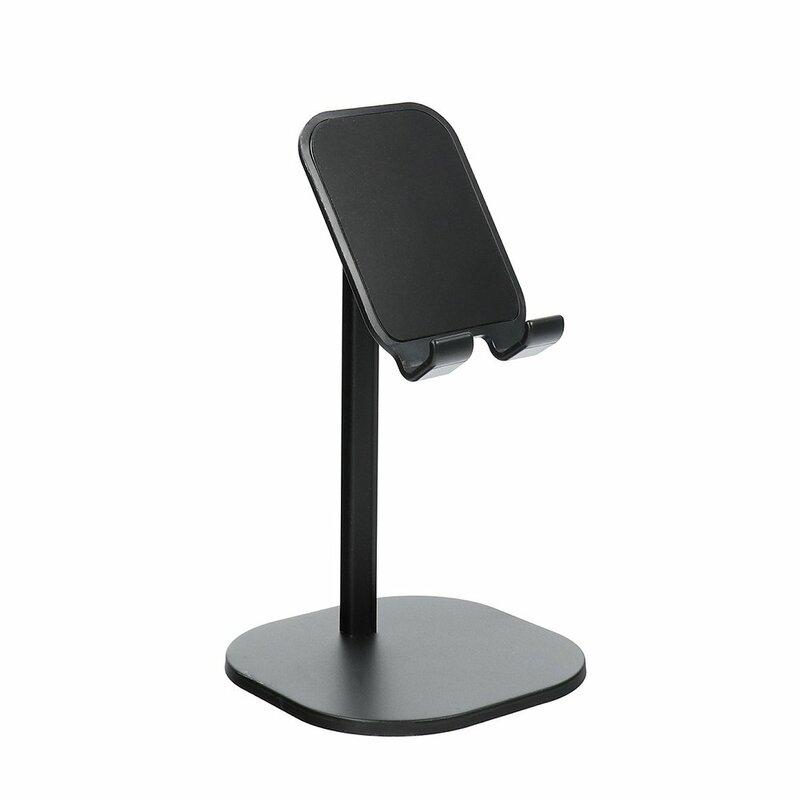 Suport Birou Mobster Telescopic Desk Holder Universal Cu Stand Ajustabil Pentru Telefon / Tableta / eBook - Negru