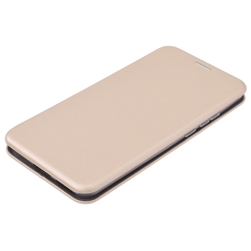 Husa Huawei P40 Pro Flip Magnet Book Type - Gold