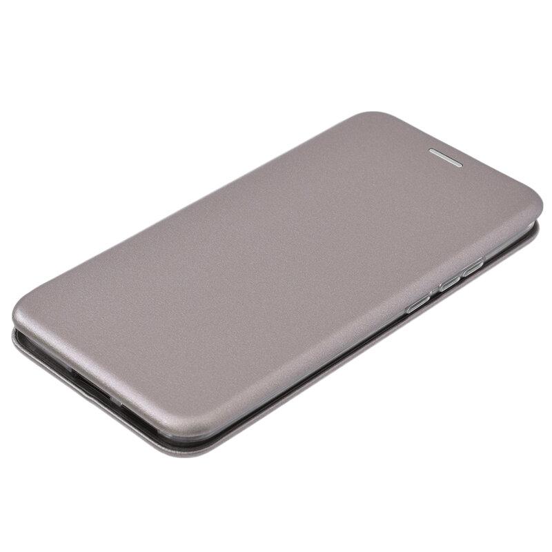 Husa Huawei P40 Pro Flip Magnet Book Type - Grey