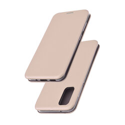 Husa Samsung Galaxy S20 5G Flip Magnet Book Type - Gold