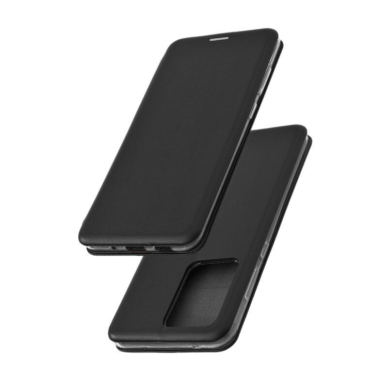 Husa Samsung Galaxy S20 Ultra 5G Flip Magnet Book Type - Black
