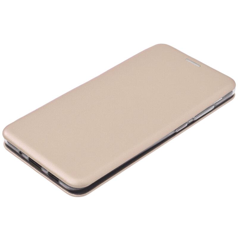 Husa Samsung Galaxy S20 Ultra 5G Flip Magnet Book Type - Gold