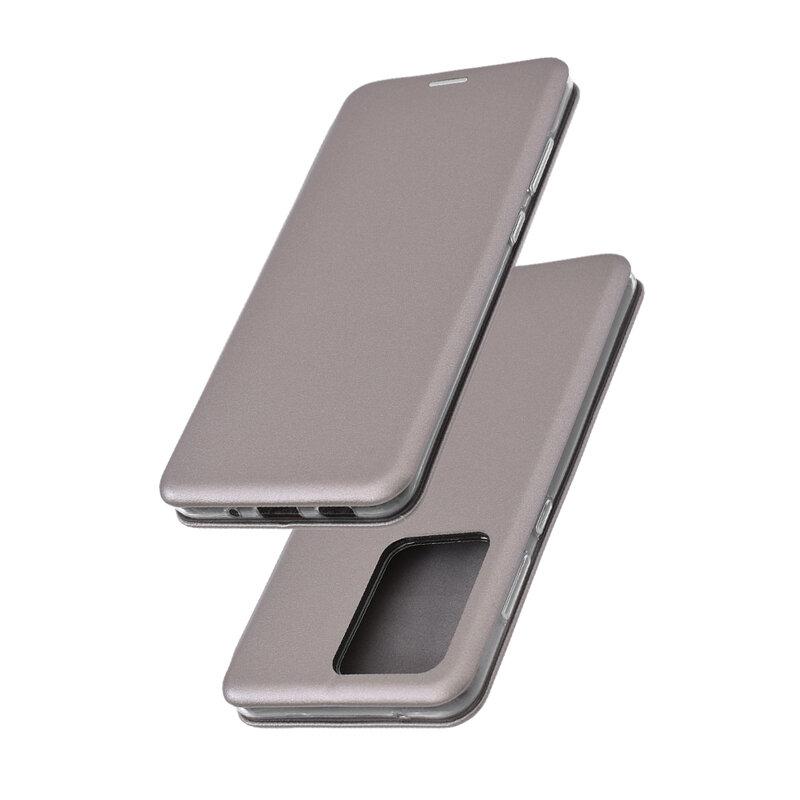 Husa Samsung Galaxy S20 Ultra 5G Flip Magnet Book Type - Grey