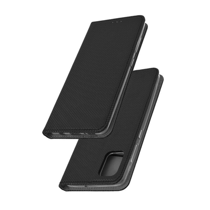 Husa Smart Book Samsung Galaxy A51 Flip - Negru