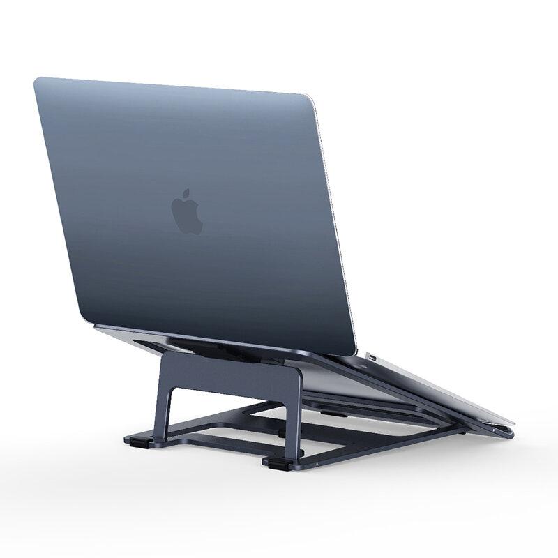 Suport Laptop Ugreen Desktop Stand Pliabil Si Reglabil Universal Din Aluminiu Si Silicon De Maxim 16