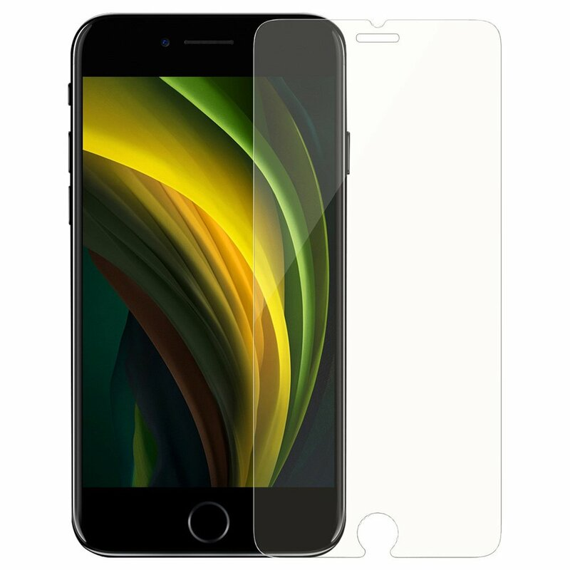 [Pachet 2x] Folie Sticla iPhone SE 2, SE 2020 Baseus Full-Glass Tempered Film - SGAPIPHSE-LA02 - Clear