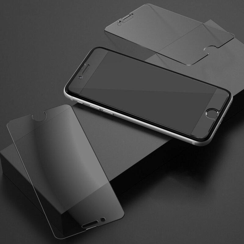 [Pachet 2x] Folie Sticla iPhone 8 Ringke Invizible Defender ID GLASS - Clear