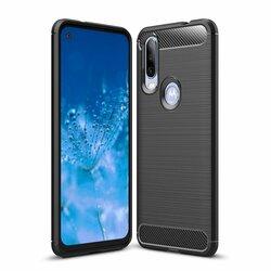 Husa Motorola One Action TPU Carbon - Negru