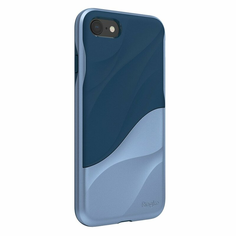 Husa iPhone 8 Ringke Wave - Coastal Blue