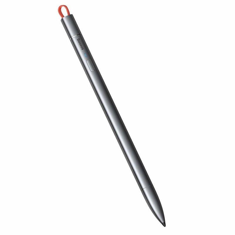 Stylus Pen Baseus Cu Cablu Type-C Dispozitive Apple 2018+ - ACSXB-A0G - Cenusiu