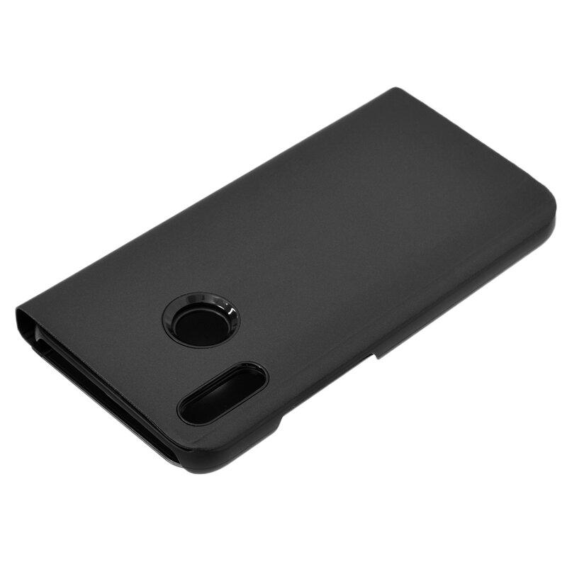 Husa Huawei P20 Lite Flip Standing Cover - Black